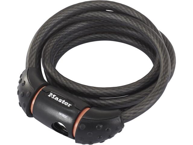 Masterlock Quantum Kabelschloss 10x1800mm schwarz/grau